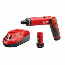 NEW MILWAUKEE 2101-22 M4 4 VOLT CORDLESS 2 SPEED SCREWDRIVER DRILL KIT