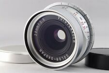 [MINT] Voigtlander Color Skopar 28mm f/3.5 MF Lens Silver Leica L39 from Japan