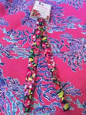 $1 NWT Lilly PULITZER Sunglass Strap Long Croakies Holder Cotton Wild Confetti