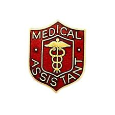 Medical Assistant Lapel Pin Caduceus Professional Emblem Graduation Pins New 818