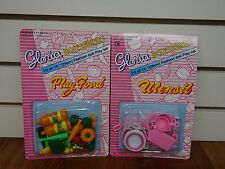 Gloria ,Barbie Doll House Furniture/(9502-1&3) Play Food & Utensil