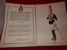 Set De Militares Impresiones Royal Horse guardias de Bellas Artes rápida dp&p A1 Limitada Impresión