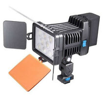 Pro LED-5080 8pcs LED Video light Lamp Lighting For Canon Nikon DSLR Camcorder