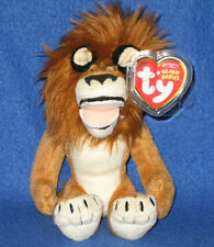 TY ALEX the LION BEANIE BABY (MADAGASCAR MOVIE) - MINT with MINT TAGS