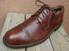 ECCO Mens Dress Shoes Brown Casual Comfort Lace Up Cap Toe Oxfords Size 9M