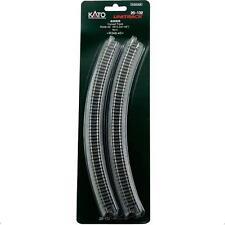 Kato 20-132 Rail Courbe / Curve Track R348mm 45º 4pcs - N