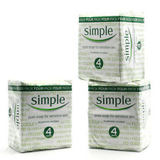 New Simple Pure Soap For Sensative Skin 125g 12 Pack