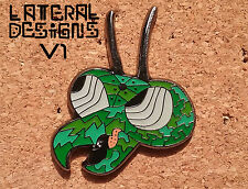 The Lone Mantis - V1 Hat Pin by Lateral Designs (Zorak/ Space Ghost)