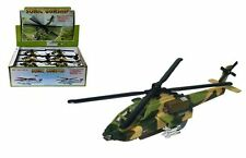 "HELICOPTER DISPLAY 8.5"" SONIC GUNSHIP ALL-WEATHER ATTACK HELICOPTER Set Of 12"