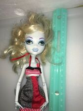 Lagoona Blue Dead Tired Doll Monster High Used No Leg Fins Outfit