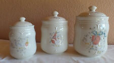Set of 3 Canisters Tableworks Marmalade Geese/Goose Small Med and Large