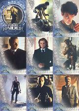 LARA CROFT TOMB RAIDER MOVIE 2001 INKWORKS COMPLETE BASE CARD SET OF 90