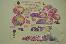 """14"""" RALEIGH MOLLY DECAL TRANSFER SET,STICKER PACK SUIT GIRLIE BIKES WTFRM14P"""