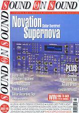 NOVATION SUPERNOVA / PASCAL GABRIEL Sound on Sound Aug 1998