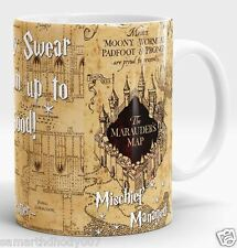 Harry Potter mug, Marauders map, Harry Potter map