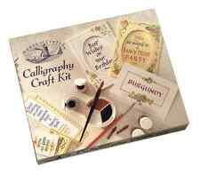 House of crafts calligraphie Craft Kit Creative writing Plumes de stylo encre tampon cadeau set