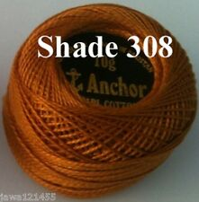 1 ANCHOR Pearl Cotton Crochet Embroidery Thread Ball. 1 Flat / Free Postage.200+