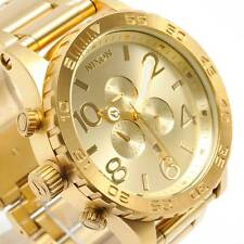 NIXON A083-502 A083502 Watch Mens 51-30 CHRONO All Gold New W/ Tags Authentic