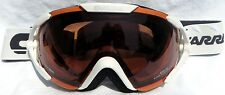 $160 Carrera Womens Dahlia White winter snow Ski Goggles Ladies Polarized Lens!!