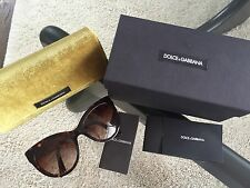 DOLCE & GABBANA SONNENBRILLE SUNGLASSES DG 4211 502/13 HAVANA/BROWN AUTHENTIC