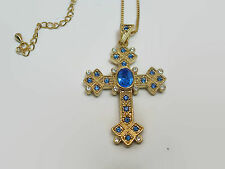Camrose & Kross Jacqueline Jackie Kennedy Repro Queen Mother's Cross Necklace