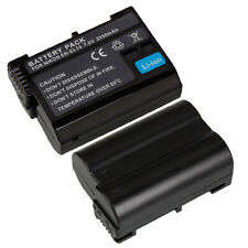 2550mAh EN-EL15 ENEL Li-ion Battery for Nikon D7000 D800