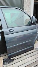 VW T5 rechte Tür Beifahrertür Dunkelgrau metallic