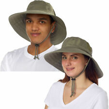 NWT Women or Men Sun Protection Zone Adult Unisex Booney Hat - Olive