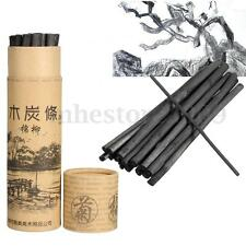 20 Charcoal Sticks Bar Sketch Art Drawing Sketching Oil Painting Willow & Case