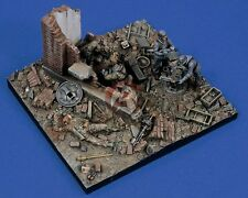 "Verlinden 1/35 ""Last Stand"" Germany Diorama Base with 5 Figures & Equipment 1494"