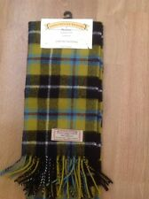 LOVELY JAMES PRINGLE WEAVERS OF INVERNESS LAMBSWOOL CHECK SCARF BNWT