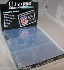 10 Ultra Pro 3 Pocket Currency Pages Sheets Holders