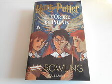 HARRY POTTER ET L'ORDRE DU PHENIX - J.K.ROWLING - GALLIMARD 975 PAGES