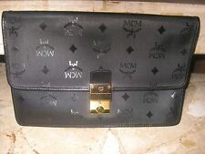 Authentic  *MCM*  CLUTCH  for MEN & WOMEN in  black   -   condition : NEW