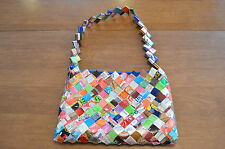 Women's Unique Gum and Candy Wrapper Purse