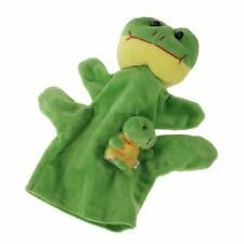 Green Frog Hand Puppet Finger Puppets YM
