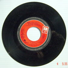 ONE 1981's 45 R.P.M. RECORD, WALTER ZWOL & THE RAGE, BRAND NEW CAR + ROCK N' R..