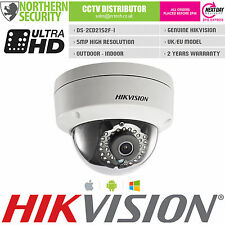 Cámara de seguridad Hikvision 6MM DS-2CD2152F-I 5MP 1080P 30M IR IP POE ONVIF Dome