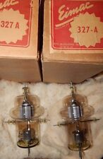 *RARE NOS NIB MATCHED PAIR EIMAC TYPE 327-A  / 327A TRIODE TUBES *PERFECT * NEW*