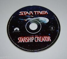 Star Trek Starship Creator PC Game Disc ONLY