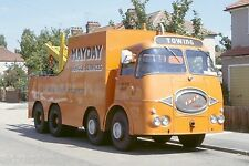 Mayday Vehicle Services Romford ERF 1982 Recovery Truck Photo