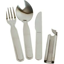 MILITARY KFS STONG STAINLESS STEEL CUTLERY NATO KNIFE FORK SPOON CAMPING CADET