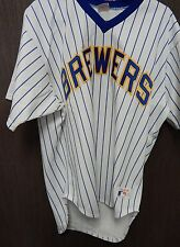 Milwaukee Brewers Vintage Rawlings Authentic White Jersey Size 40