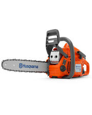 "HUSQVARNA 135 CHAINSAW WITH 14"" BAR AND CHAIN BETTER THAN 236 +FOC 2 STROKE OIL"