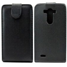 New Flip Pouch Black Leather Phone Shell Case Cover Perfect For LG Optimus G3