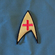 Star Trek TOS Nurse's Insignia 3rd Season version patch cosplay