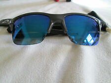 Oakley dark grey frame Thinlink mirror sunglasses. With bag. OO9316-04.