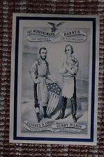 Ulysses S. Grant For President campaign poster Henry Wilson