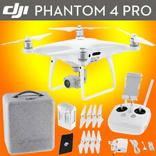 DJI Phantom 4 Pro Quadcopter Drone - 4K Video, 20MP Images, 30 Min Flight Time