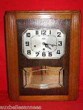 ANCIEN CARILLON GIROD 8 TIGES 8 MARTEAUX 2 MELODIES / HORLOGE PENDULE OLD CLOCK